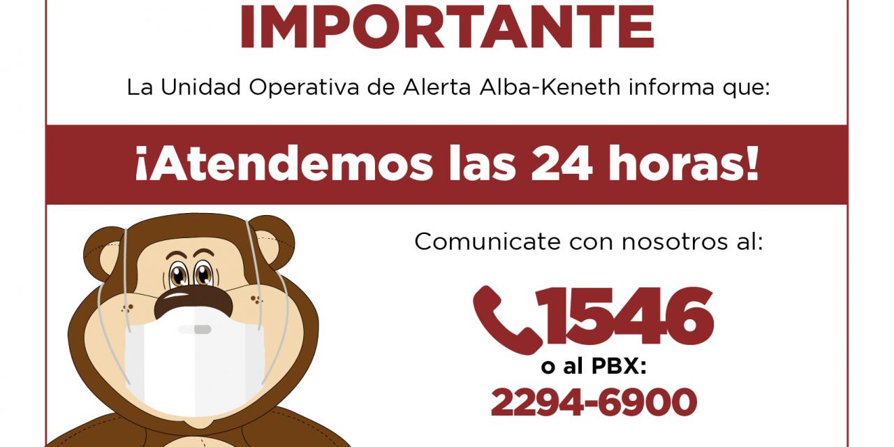 Desactivar la alerta Alba-Keneth, nuestra responsabilidad ciudadana