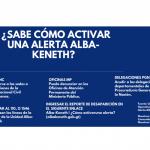 ¿Sabe cómo activar una alerta Alba-Keneth?